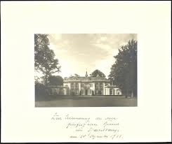 Een herinnering met foto van de Hartekamp aan het 50ste bezoek van de keizer aan de Hartekamp op 30 december 1931 (foto collectie Huis Doorn)