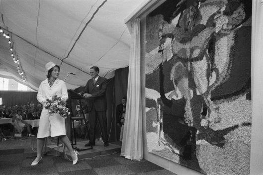 Op 12 september 1971 vond de officiële opening plaats van het monumentale nieuwbouwproject door prinses Margriet.