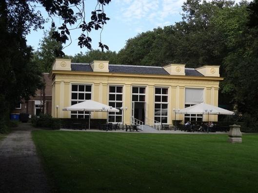 Zocher-oranjerie van de Hartekamp, begin 19eeeuw.