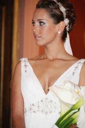 Catalina Roth, achterkleindochter van Catalina von Pannwitz-Roth trouwde in 2011 (foto los Tiempes)
