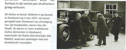 Bezoek van keizer Wilhelm 11 aan Zandvoort, 5 mei 1937
