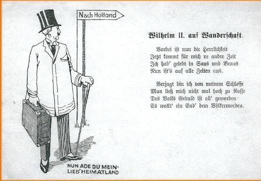Achteromslag van boek over Wilhelm II