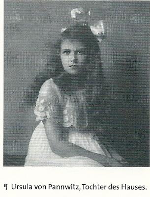 Een jonge Ursula von Pannwitz in Berlijn