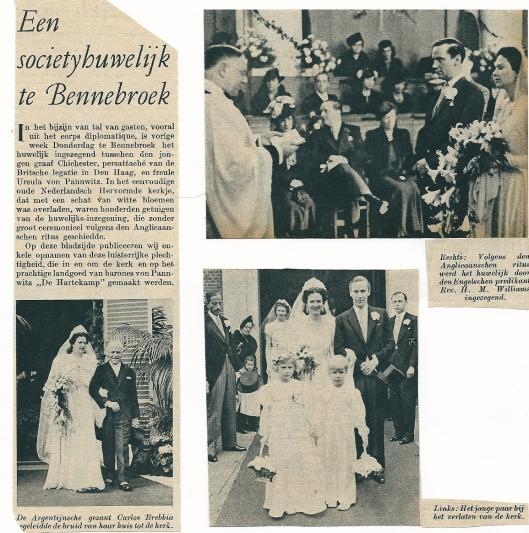 Artikel uit Panorama Stad Amsterdam van 4-4-1939