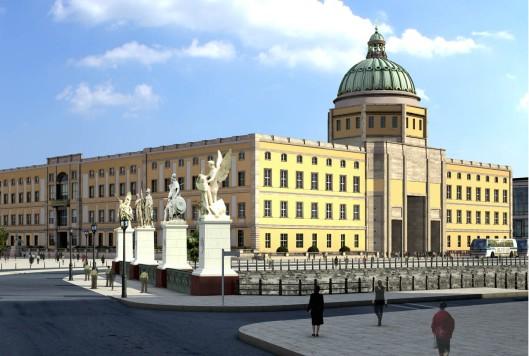 In 2013 is een aanvang gemaakt met een nauuwkeurige herbouw van het 'Stadtschloss' op het museumeiland in Berlijn, waarvoor 5 jaar en een half miljard Euro is uitgetrokken