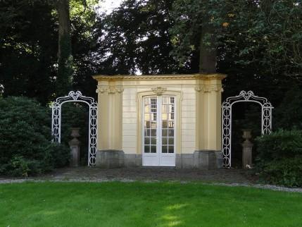 Tuinhuis op landgoed de Hartekamp