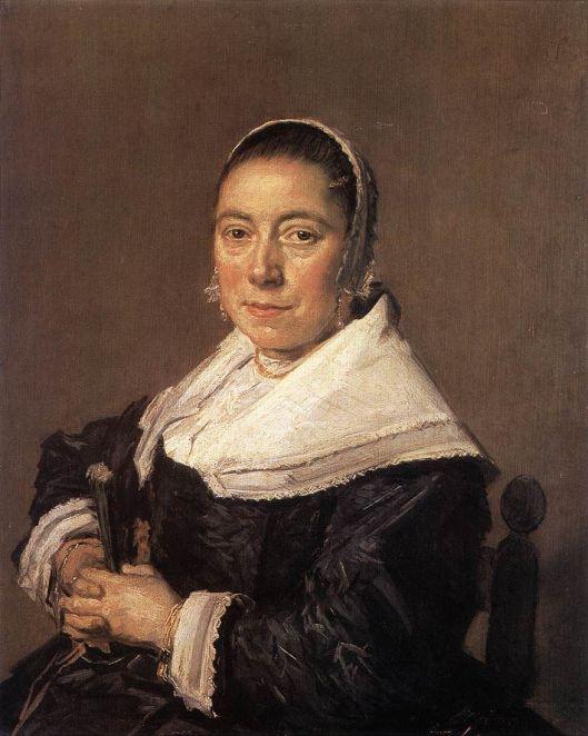 Portret van een zittende vrouw, circa 1648-1650 geschilderd door Frans Hals. Vermoedelijk Genoveva Maria Vernatti (geboren te Rotterdam in 1622, datum van overlijden onbekend). Het hoek was in brzit van Catalina von Pannwitz op de Hartekamp en verhuisde met haar enige dochter naar Salisbury.