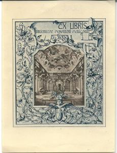 Ex libris kloosterbibliotheek Melk