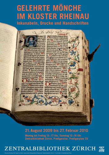 Ueberlieferte Bücher von Rheinau in Zentralbibliothek Zürich