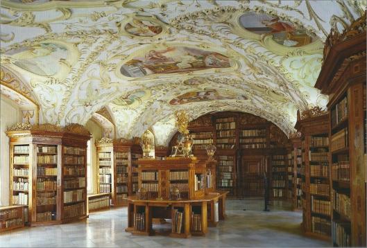 Kloosterbibliotheek Lilienfeld, Austria