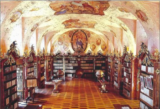Kloosterbibliotheek Vorau, Austria