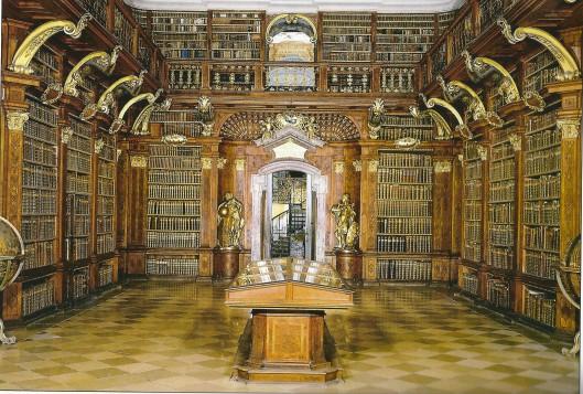 Kloosterbibliotheek Melk, Oostenrijk