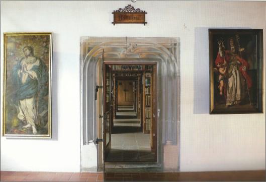 Kloosterbibliotheek Schwaz, Austria