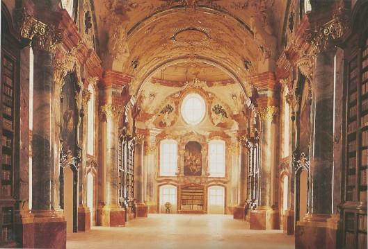 Kloosterbibliotheek Altenburg, Austria