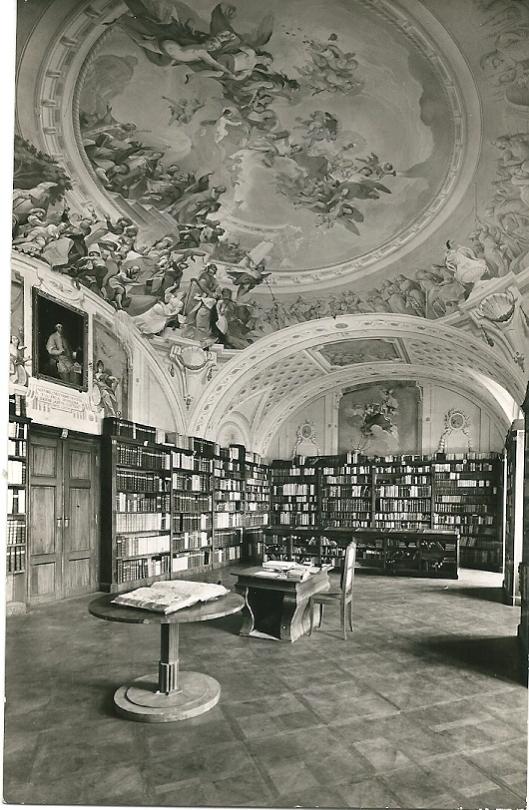 Stift Geras: Bibliotheekinterieur