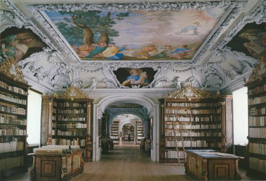 Kloosterbibliotheek Kremsmünster, Austria