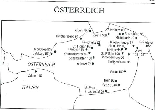 In 'Das Reiselexikon Bibliotheken' beschreven pronkzaalbibliotheken