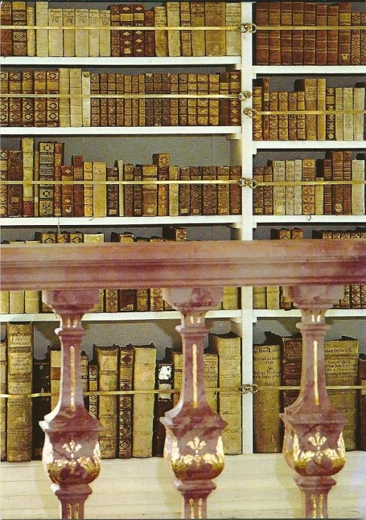 Boeken uit de voormalige bibliotheek van het Augustijnenklooster in Polling, Beieren