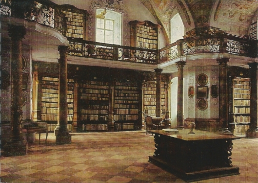 Bibliotheek van Cisterciënzerklooster Schlierbach