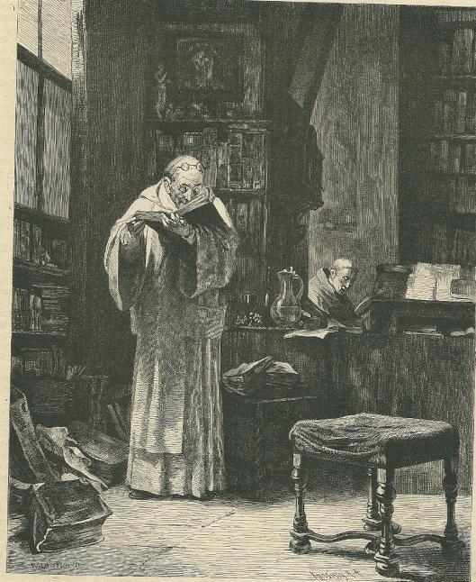 Op de drempel van de Reformatie-tijd: scholastische studies. naar een schilderij van M.Lindenschmnidt
