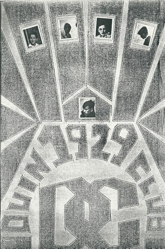 Voorzijde van het eerste nummer uit 1932 van de in 1929 opgerichte Duinclub.