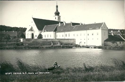 Klooster Geras, Niederösterreich) met apsis en bibliotheekgebouw