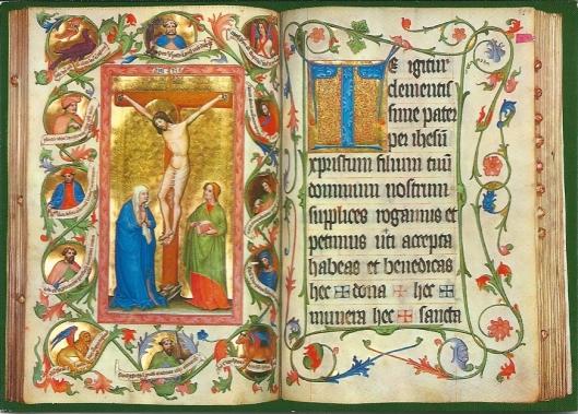 St. Peter, Salzburg. Missaal in 1432 voltooid in het schrijfatelier van de Grillinger-Bijbel (Stiftsarchiv St. Petet. Codex a XI 3)