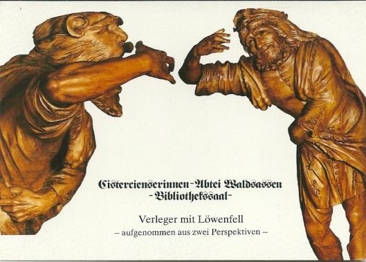 Promotiekaart abdij Waldsassen