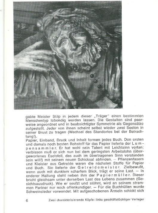 Uitleg over Stilp's beelden uit gidsje 'Stiftsbibliothek Waldsassen', door P.Theobald Stibitz. (1)