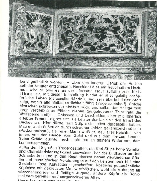 Slot uitleg beelden in abdijbibliotheek Waldsassen