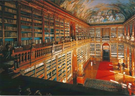 De Filosofische zaal van Strahov, Praag