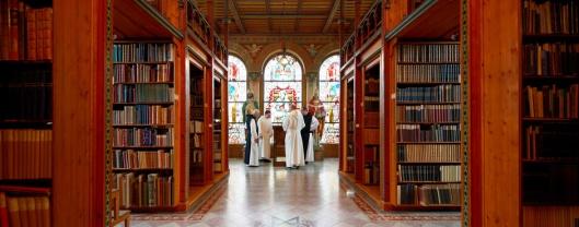 Cisterciënzerklooster Wettingen-Mehrerau nabij Bregenz omvat 2 bibliotheken. De oude dateert uit 1770 en is in een rococo-stijl uitgevoerd