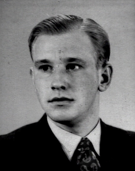 Portret van Michel van der Plas uit 1952 (Katholiek Documentatie Centrum)