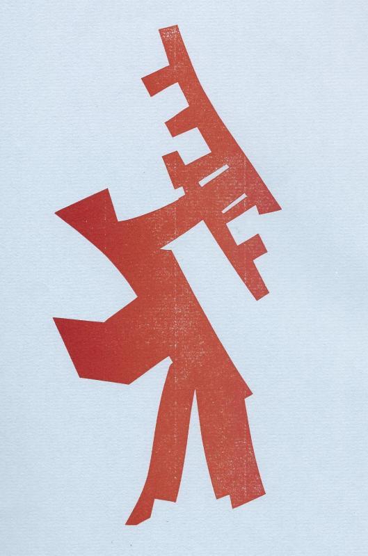 De Geleerde Man; illustratie door Willem Snitker