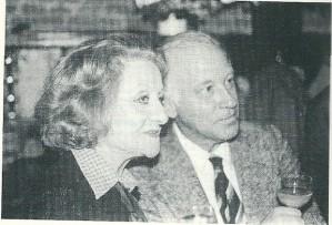 Connie Stuart met Michel van der Plas (Uit: Theo Kroon, Michel van der Plas, AO nr. 2442, 20-11-1992)