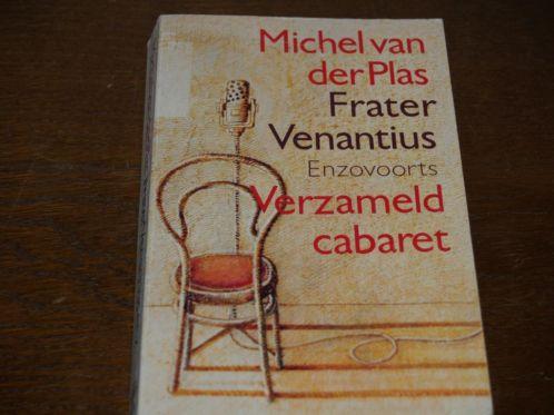 Michel van der Plas schreef cabaret- en liedteksten voor o.a. Wim Sonneveld, Gerard Cox, Frans Halsema, Adèle Bloemendaal e.a. Zoals: Frater Venantius, de Stalmeester en Tearoom tango. Uitgave van Villa, 1984, 221 p.