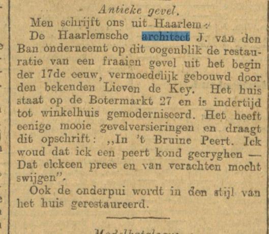 Uit: Algemeen Handelsblad van 13 augustus 1908