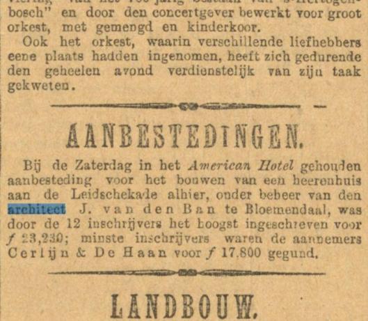 Uit: Algemeen Handelsblad van 3 mei 1887