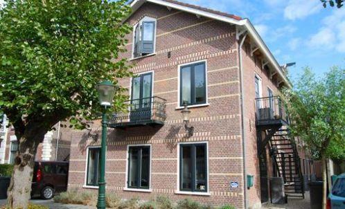De voor bewoning verbouwde bollenschuur in Noordwijk