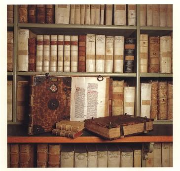 Braunschweig. De huidige stadsbibliotheek bezit een schat aan handschriften en boeken uit 8 eeuwen.