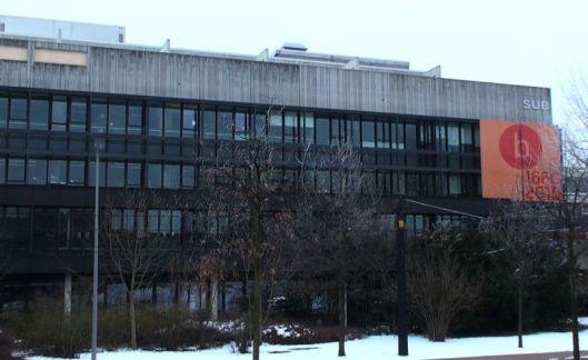 Hoofdgebouw van Staats- en Universiteitsbibliotheek Bremen, oorspronkelijk gesticht in 1661