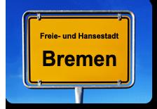 Toegangsbord van Freie- und Hansestadt Bremen