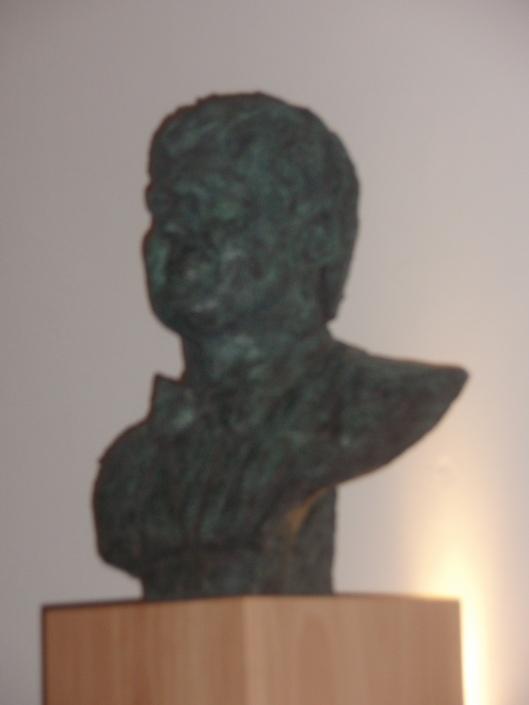 Borstbeeld van koning Willem Alexander door Ellen Wolff