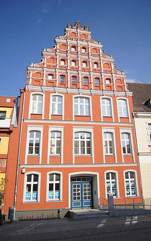 Façade Stadtbibliothek Greifswald