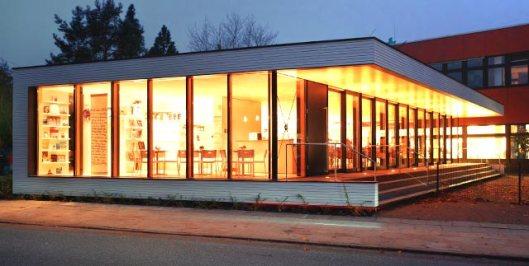 Filiaalbibliotheek in de Hamburgse wijk Bergedorf