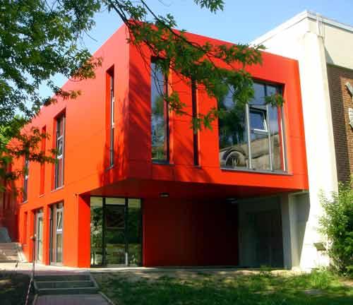 Bibliotheek van het gymnasium in Hildesheim