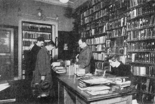 De Joodse bibliotheek van Hamburg voor 1933