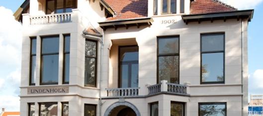 Kantoorvilla Lindenhoek staat nu te huur.