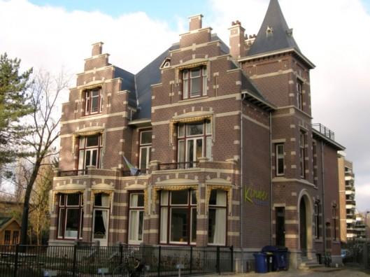 Huidige pand 'Lommerrijk', Wilhelminalaan Haarlem