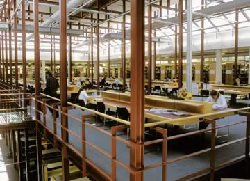 Interieur Universiteitsbibliotheek Lüneburg